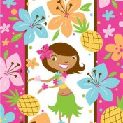 085820 Pink Luau Fun Loot Bag