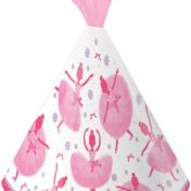 205905 Tutu Much Fun Child Size Child Party Hat with Tulle
