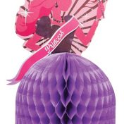 265587-Princess Party Shaped Honeycomb Centerpiece