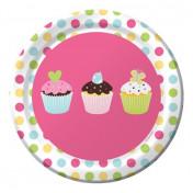 415011 Sweet Treats! 7 Lunch Plates