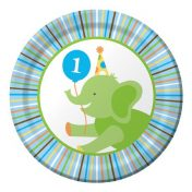 415100 Sweet At One - Boy 7 Lunch Plates