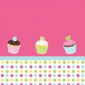 725011 Sweet Treats! Plastic 54x108 Tablecover
