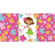 725820 Pink Luau Fun Plastic 54x108 Tablecover