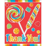 891424 Sugar Buzz Thank You Notes