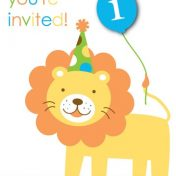 895100 Sweet At One - Boy Invitations
