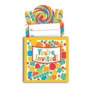 895424 Sugar Buzz Popup Invitations