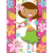 895820 Pink Luau Fun Postcard Invitations