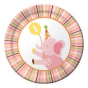 415101 Sweet At One - Girl 7 Lunch Plates