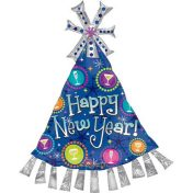 AN20292 35 Inch New Year Hat Balloon$120