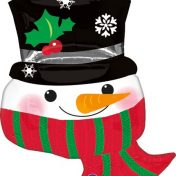 AN22782 28inch Christmas Snowman Balloon$130