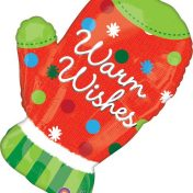 AN25144 28inch Holiday Mitten Balloon$120