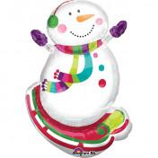 AN27228 31 Inch Joyful Snowman$130