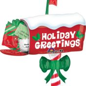 AN27231 32 Inch Holiday Greetings Mailbox$120