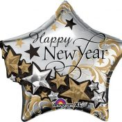 AN27244 Shape New Year Star Garland$150