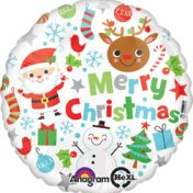 AN29392 18in Merry Christmas Icons$40