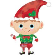 AN29397 36 Inch Christmas Elf Balloon$120