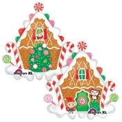 AN29398 30 Inch Christmas Gingerbread House$120