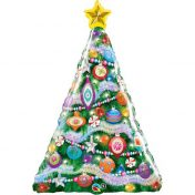 AN39067 39 inch Shape Decorated Christmas Tree$130