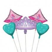 045587-Princess Party Balloon Bouquet