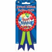 Birthday Badge & Hat