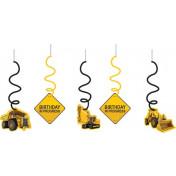 035590 - Construction Bday Zone Dizzy Danglers