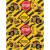 041590 - Value Stickers Construction Birthday Zone