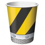 375590 - 9oz cup Construction Birthday Zone