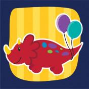 655546 - Beverage Napkin Little Dino Party