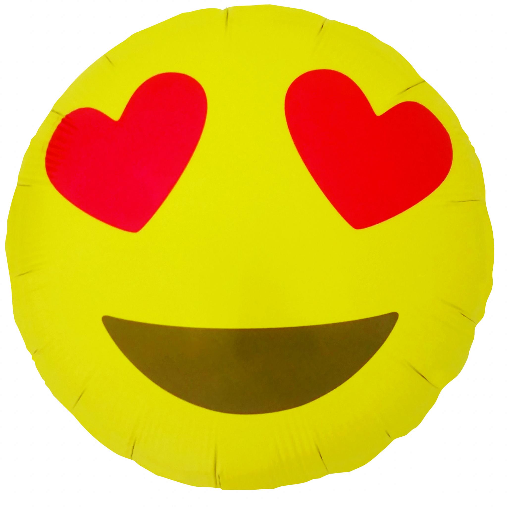 """NS 18"""" Emoji Heart Eye"""